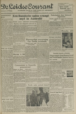 Leidse Courant 1954-04-14