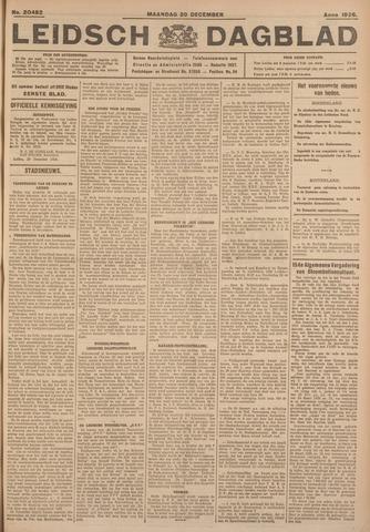Leidsch Dagblad 1926-12-20