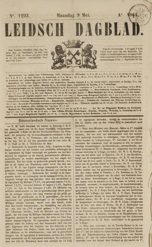 Leidsch Dagblad 1864-05-09