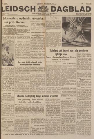 Leidsch Dagblad 1951-02-28