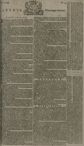 Leydse Courant 1749-04-09