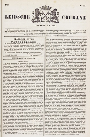 Leydse Courant 1877-03-28