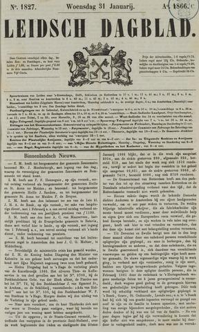 Leidsch Dagblad 1866-01-31