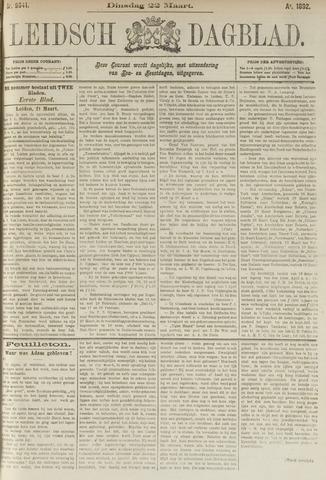 Leidsch Dagblad 1892-03-22