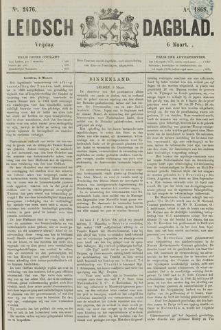 Leidsch Dagblad 1868-03-06