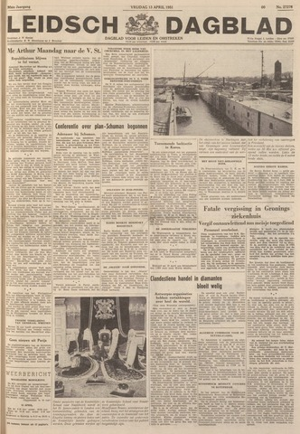 Leidsch Dagblad 1951-04-13