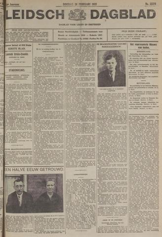 Leidsch Dagblad 1933-02-28