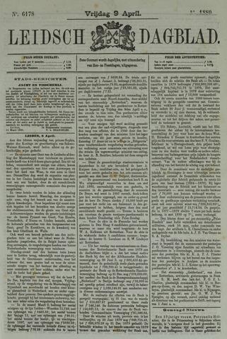 Leidsch Dagblad 1880-04-09