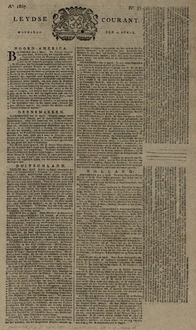 Leydse Courant 1807-04-29