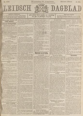 Leidsch Dagblad 1916-08-30