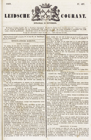 Leydse Courant 1869-11-16