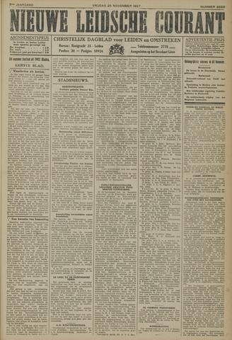 Nieuwe Leidsche Courant 1927-11-25