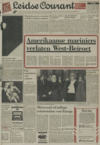 Leidse Courant 1984-02-08