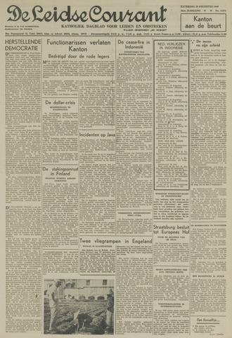 Leidse Courant 1949-08-20