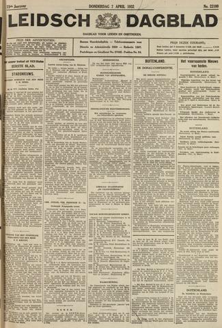 Leidsch Dagblad 1932-04-07