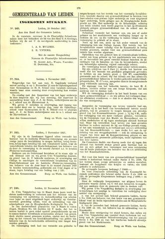 Handelingen van de Raad 1927-10-28