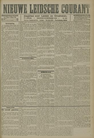 Nieuwe Leidsche Courant 1923-11-26
