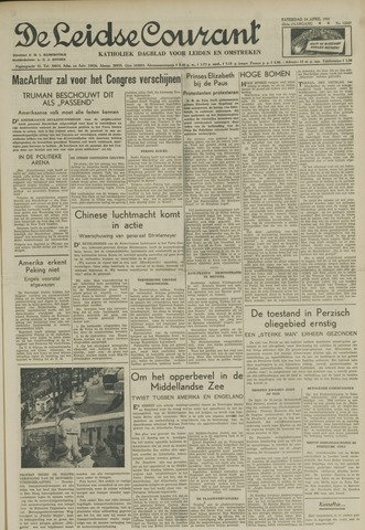 Leidse Courant 1951-04-14