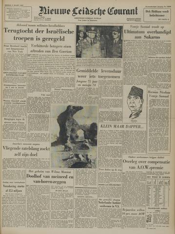 Nieuwe Leidsche Courant 1957-03-05