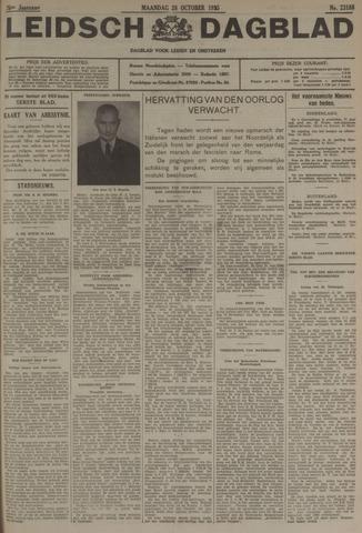 Leidsch Dagblad 1935-10-28