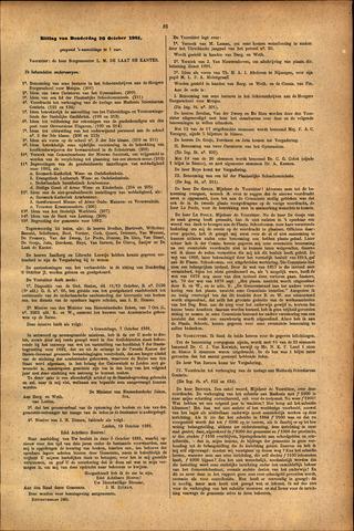 Handelingen van de Raad 1881-10-20