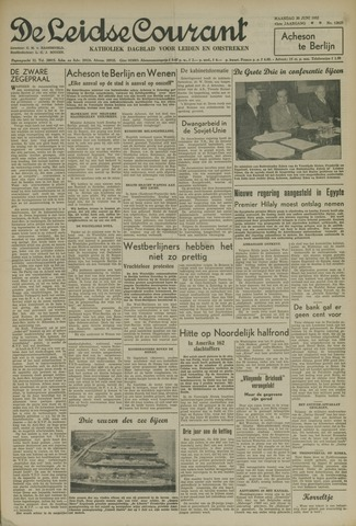 Leidse Courant 1952-06-30
