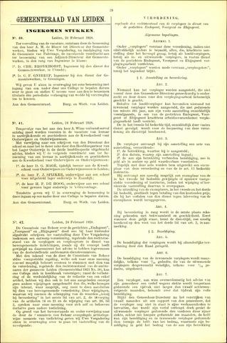 Handelingen van de Raad 1928-02-24