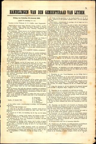 Handelingen van de Raad 1866-01-20