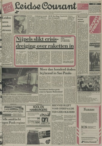 Leidse Courant 1984-02-27