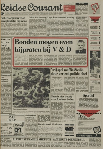 Leidse Courant 1988-08-01