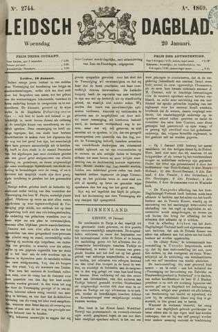 Leidsch Dagblad 1869-01-20