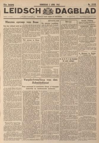 Leidsch Dagblad 1942-04-02