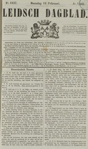 Leidsch Dagblad 1866-02-12