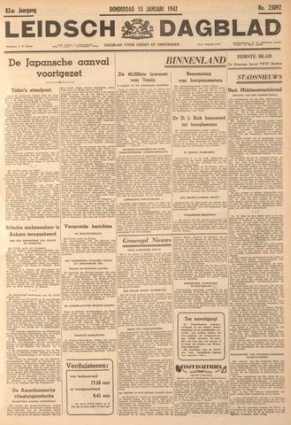 Leidsch Dagblad 1942-01-15
