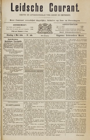 Leydse Courant 1885-05-05