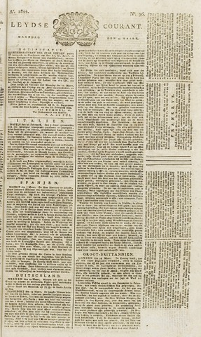 Leydse Courant 1822-03-25