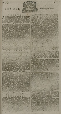 Leydse Courant 1736-01-30