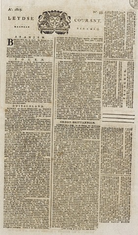 Leydse Courant 1815-05-08