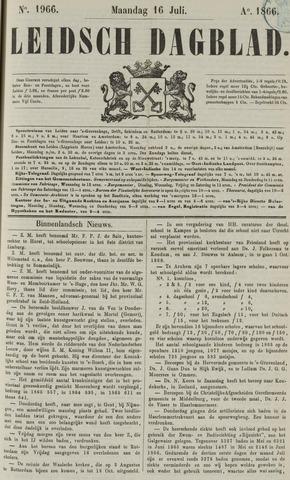 Leidsch Dagblad 1866-07-16