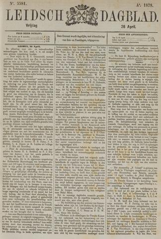Leidsch Dagblad 1878-04-26