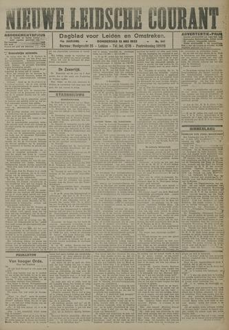 Nieuwe Leidsche Courant 1923-05-31