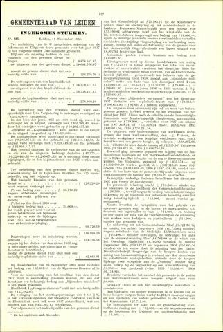 Handelingen van de Raad 1938-11-11
