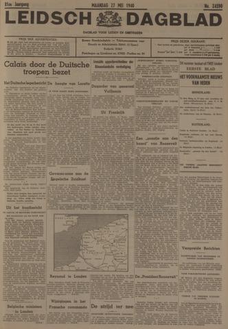 Leidsch Dagblad 1940-05-27