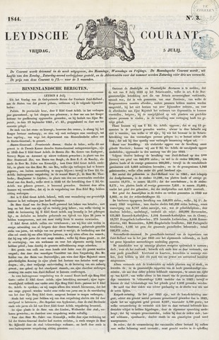 Leydse Courant 1844-07-05