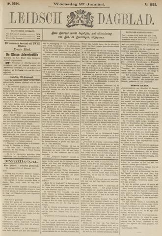 Leidsch Dagblad 1892-01-27