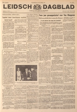 Leidsch Dagblad 1947-10-30
