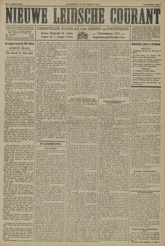 Nieuwe Leidsche Courant 1927-10-15