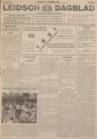 Leidsch Dagblad 1930-12-20