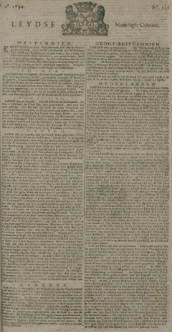 Leydse Courant 1734-09-27
