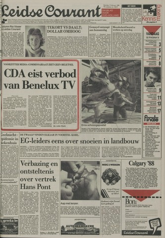 Leidse Courant 1988-02-13